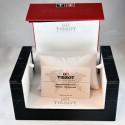Anello RECARLO ref.XD757/BS4 in oro bianco con diamanti taglio brillante ct.0,28 colore F/VS e smeraldo ct.1,70.