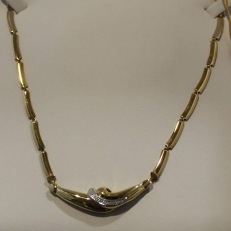Collana Morellato in acciaio ciondolo cuore con cristalli