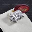 LE BEBE' bracciale collezione briciole maschietto in oro bianco e pavè di diamanti ref. LBB 305