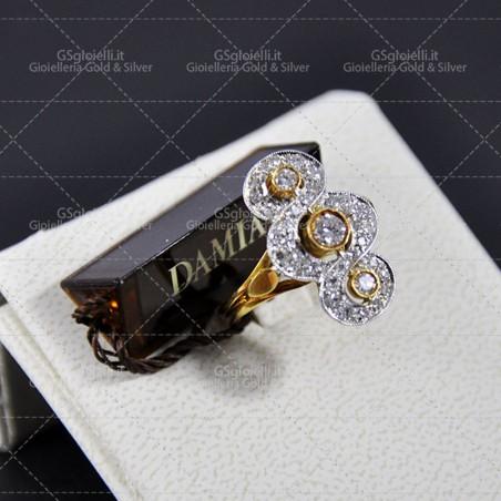 LE BEBE' ciondolo collezione i classici femminuccia in oro bianco ref. LBB 004