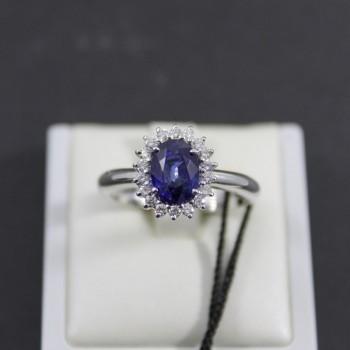 Anello RECARLO con diamanti...