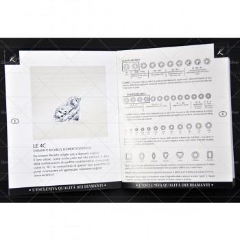 Girocollo RECARLO in oro bianco con diamante ct.0,49 Ref. Z431045