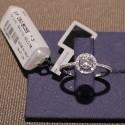 ANELLO DAMIANI oro e diamante ct.0,03