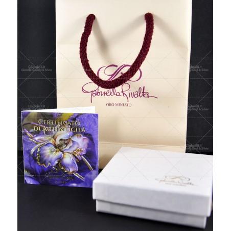 Anello Salvini oro bianco e diamanti con zaffiro 20057682