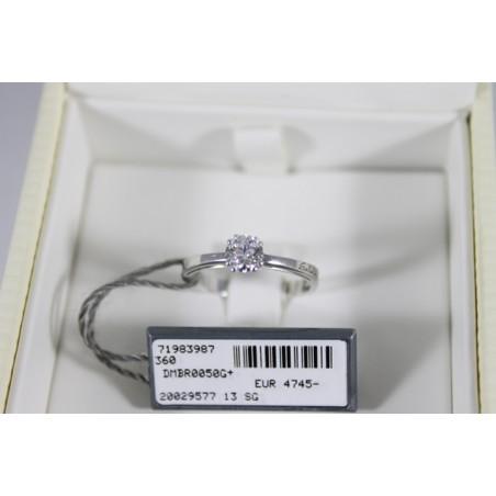 Collana Recarlo con croce di diamanti in oro bianco REF.ZN587/B