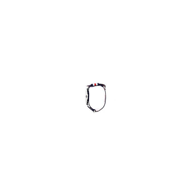 ANELLO DAMIANI SOLITATIO DIAMANTE TAGLIO BRILLANTE CT.0.14 COLORE H IF, ORO GR.4.80.